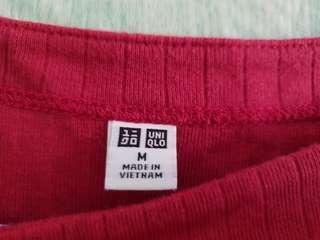 Uniqlo Red Top