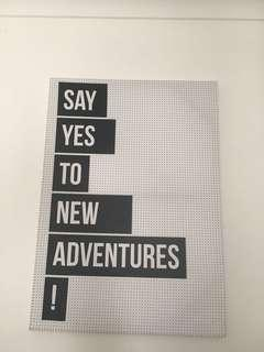 Say Yes To New Adventures Canvas Photo