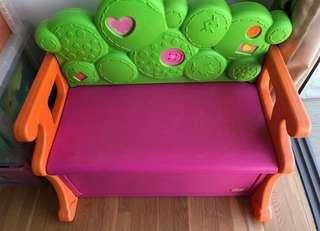 Little Tikes Lalaloopsy Bench Toys Storage Box