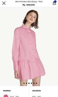 NEW Jual Rugi! Pomelo Pink Shirt Dress