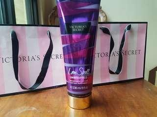 Victoria's Secret Love Spell Unwrapped Fragrance Lotion