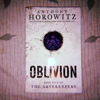 oblivion ; book five of the gate keepers