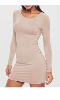 Pale Pink Bodycon Dress