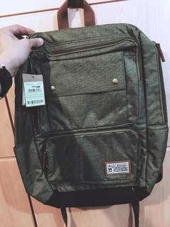 Who A U backpack Color: Olive (new)