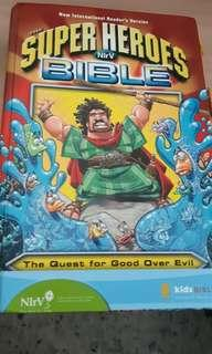 Children bible suitable for age 6-9