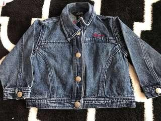 Guess Jeans Jacket 3-6months