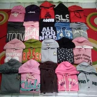 Borongan hoodie cewek import original