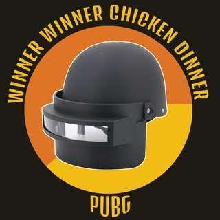 PUBG Battlegrounds Level 3 Helmet Black Cosplay Helmet