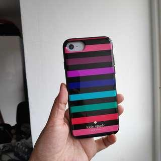 50% off Kate Spade party stripe iPhone 7 case