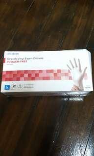 McKESSON Stretch Vinyl Exam Gloves (powder free)