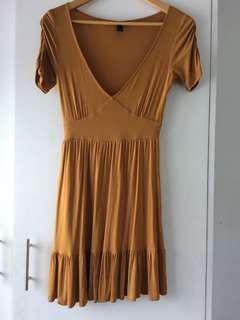 Forever 21 ruffle dress