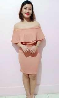 Tanya Off Shoulder Dress