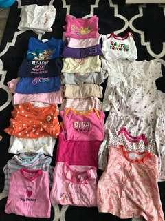 Bundle Baby Clothes girls 3 months to 12 months