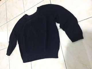 Cotton ink sweater