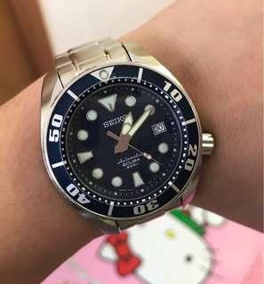 90%NEW SEIKO SBDC003 舊版藍色細mm 淨錶 $2780