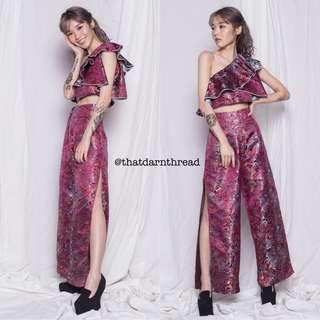 YHF Oriental Set in Crimson