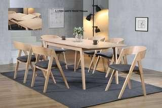 Dining Table Set -  Full solid