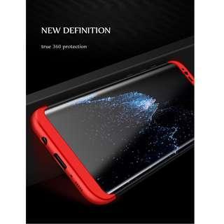 Samsung S8+ 360 Ultra Slim 3 in 1 Case + Free Film