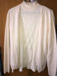 女裝線衫長袖上衣連外套