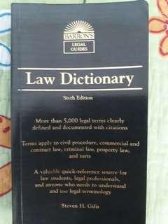 BARRON'S Legal Guides Law Dictionary 6th Edition