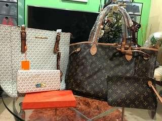Michael Kors and Louis Vuitton High Ended Quality of Bundle Set