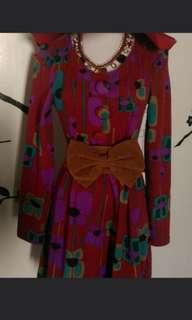 🚚 復古洋裝