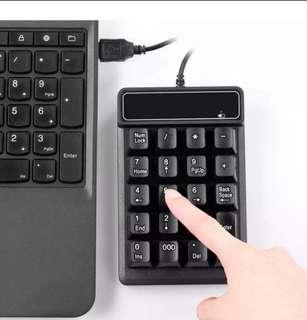 Numeric Keypad Number Pad Keyboard for Laptop Notebook
