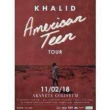 2 Khalid vip standing tickets 7.5k each