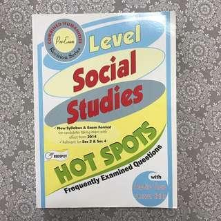 O Level Social Studies