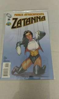DC Zatanna comic