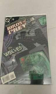 DC comic birds of prey