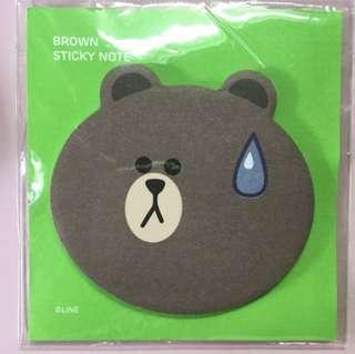 (BN) Brown notepad