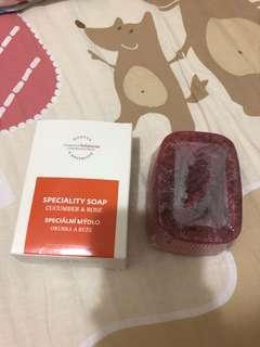 Hortus 玫瑰小黃瓜手工皂 190g懸掛式