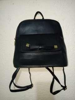 Authentic Dusto Black Backpack