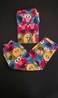 Baju tidur anak Elmo