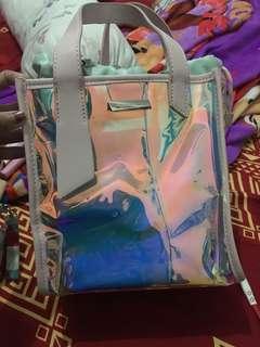 JUAL RUGI!!!! Ck slingbag Hologram Original