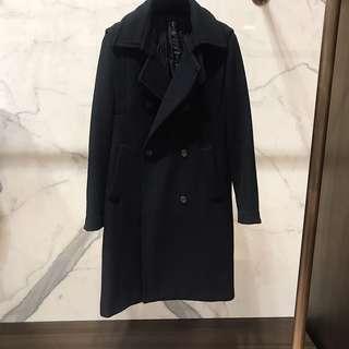 🚚 雙排釦羊毛大衣