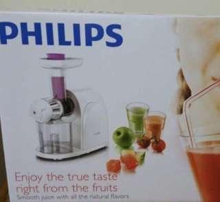 (BN) Philips Slow Juicer