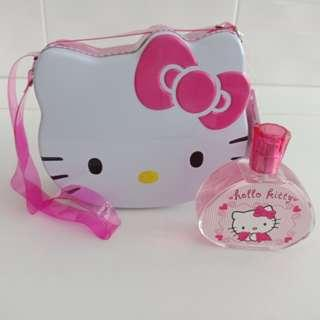 Hello Kitty Sanrio- Container sling,  EDT spray 100 ml