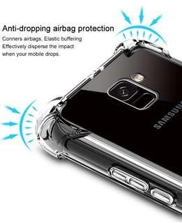 iPhone Samsung Huawei Oppo Shockproof TPU Clear Cover Case