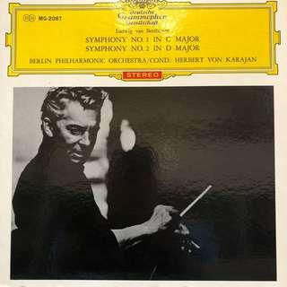 卡拉揚指揮~貝多芬第四第一第二交響樂