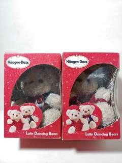 Haagen-Dazs雪糕小熊一對 全新