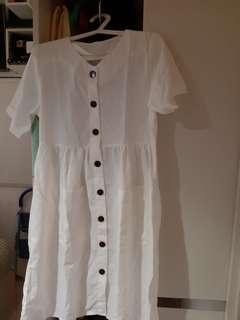 Zaskia button dress