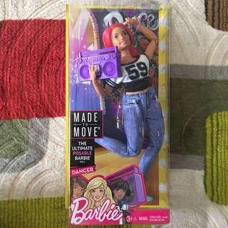 Barbie Curvy Made to Move MTM