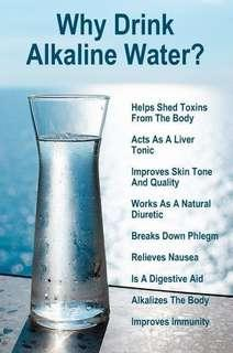 Alkaline Water Filter System @ home