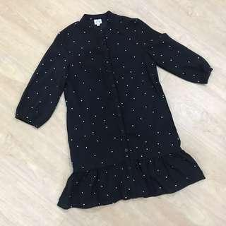 A for Arcade Polka Dot Romper