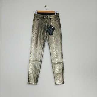 Guess Gold Python Jeans