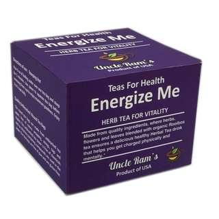 Uncle Ram's Tea For Health 'Energize Me'