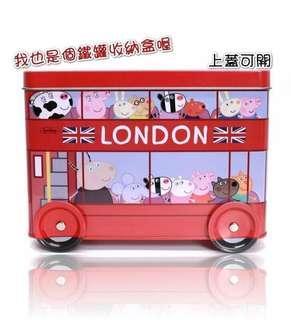 預售~~香港進口~佩佩豬巴士餅乾組