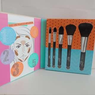 Brush set 5 pcs - SUNKISSED UK